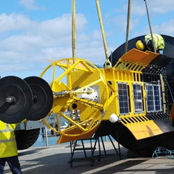 Galway Bay buoy updates Twitter followers on Volvo Ocean Race