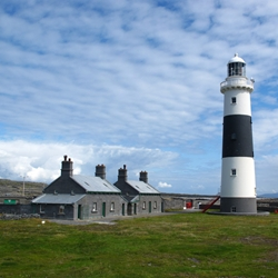 Inisheer Lighthouse exhibits new LED Light