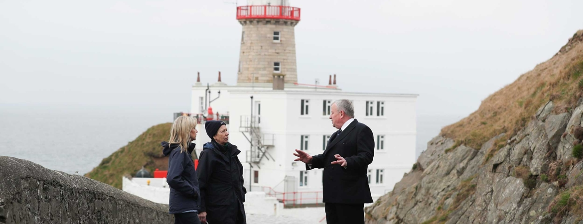 The Princess Royal Visits Irish Lights